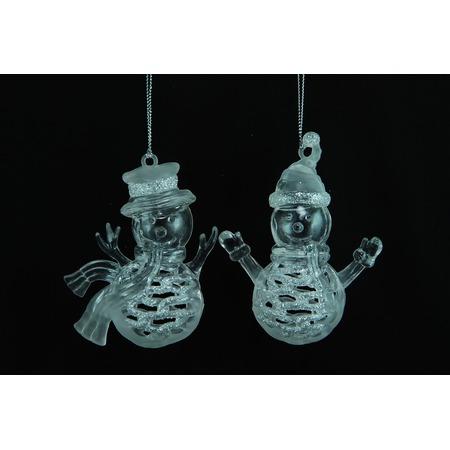 Купить Елочное украшение Crystal Deco «Снеговик». В ассортименте