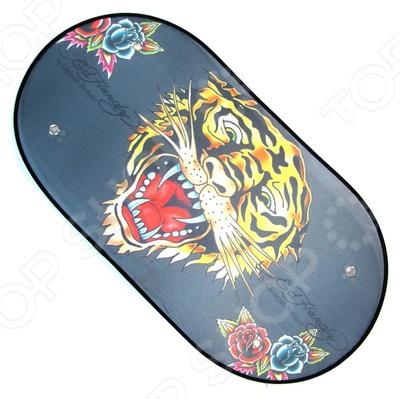 Шторка солнцезащитная на заднее стекло ED Hardy EH-00209 Tiger