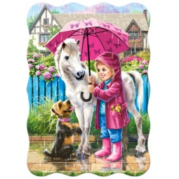 Купить Пазл 30 элементов Castorland «Дождливый день»
