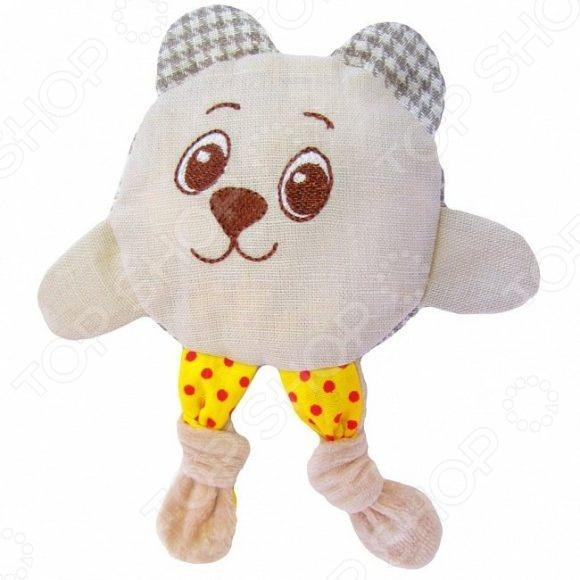 Мягкая игрушка развивающая Мякиши «Доктор Мякиш. Мишка кроха»