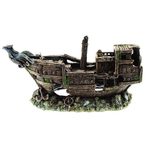 фото Лодка для аквариума DEZZIE «Скат»
