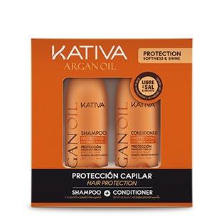 Купить Набор увлажняющий для волос: шампунь и кондиционер Kativa 65803074 Argana