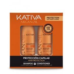 фото Набор увлажняющий для волос: шампунь и кондиционер Kativa 65803074 Argana