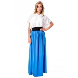 фото Юбка-сарафан Mondigo 9237. Цвет: синий. Размер одежды: 42