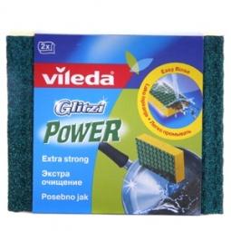 фото Губка глитци Vileda «Power экстра очищение», 2 шт