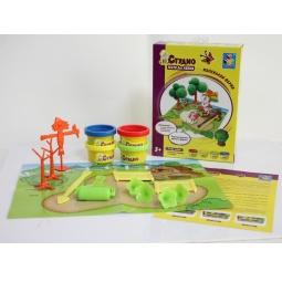 Купить Набор теста для лепки 1 Toy «Маленькая ферма»