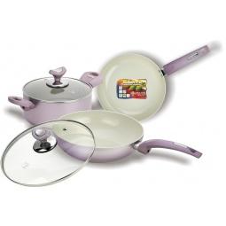 фото Набор кухонной посуды c внутренним керамическим покрытием Vitesse VS-2224