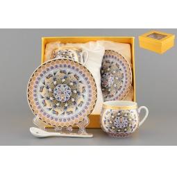 Купить Кофейная пара с ложками Elan Gallery «Калейдоскоп»