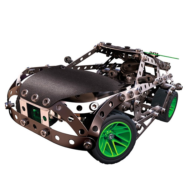 Конструктор металлический Meccano «Раллийная машина с мотором»