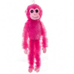 фото Мягкая игрушка Aurora «Шимпанзе». Цвет: малиновый