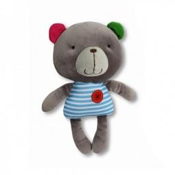фото Мягкая игрушка со звуком 1 Toy «Мишка» Т57138-2