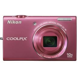 фото Фотокамера цифровая Nikon CoolPix S6200. Цвет: розовый