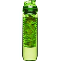 фото Бутылка Sagaform с емкостью для фруктов. Цвет: зеленый. Объем: 800 мл