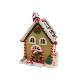 Купить Декорация с подсветкой Crystal Deco «Пряничный домик» 1707925