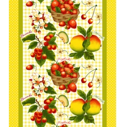 фото Полотенце вафельное ТексДизайн «Фруктовый сад»