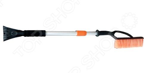 Щетка для снега телескопическая со скребком Автостоп AB-2268