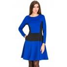 Фото Платье Mondigo 5177. Цвет: синий. Размер одежды: 46