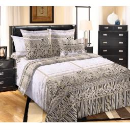 фото Комплект постельного белья Королевское Искушение «Баккарди». 1,5-спальный. Размер простыни: 140х200 см