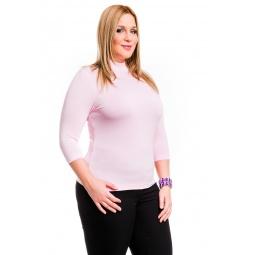 фото Водолазка Mondigo XL 7010. Цвет: бледно-розовый. Размер одежды: 48