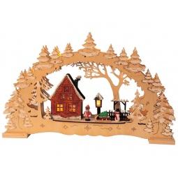 Купить Декорация рождественская Star Trading Деревня