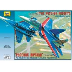 фото Сборная модель Звезда Самолет «Су-27УБ» «Русские витязи»