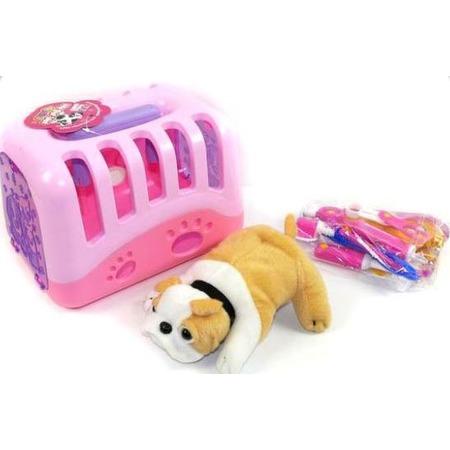 Купить Игровой набор для девочки Shantou Gepai «Набор ветеринара. Питомец с аксессуарами». В ассортименте