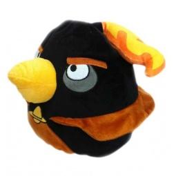 Купить Подушка-игрушка декоративная Angry Birds Space Black Firebomb bird