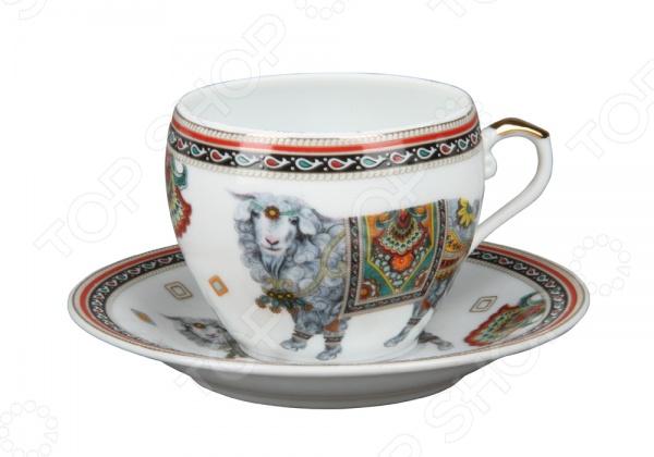 Чашка с блюдцем Rosenberg 8199