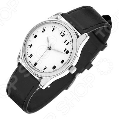 Часы наручные Mitya Veselkov «Обратный циферблат»Наручные часы унисекс<br>Часы наручные Mitya Veselkov Обратный циферблат стильный аксессуар, который дополнит ваш образ. Сочетаются с необычной и яркой одеждой. Часы выполнены в оригинальном стиле в сочетании с приятными и мягкими тонами, которые добавляют настроение. Дизайн и ручная сборка Митя Весельков. Снабжены регулируемым под запястье ремешком из натуральной кожи с классической застежкой. Часовой механизм: кварцевый, Citizen Япония . Стекло минеральное с PVD покрытием. Корпус изготовлен из сплава металлов, а крышка из стали.<br>