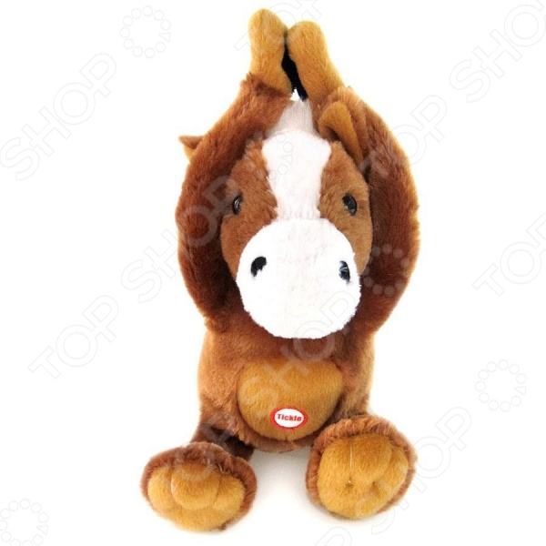 Мягкая игрушка интерактивная Woody O'Time «Лошадка Щекотка»