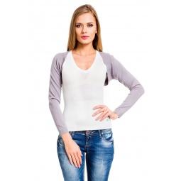 фото Болеро Mondigo 9438. Цвет: серый. Размер одежды: 46