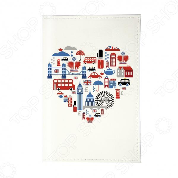 Обложка для паспорта Mitya Veselkov «Сердце Лондона» стоимость