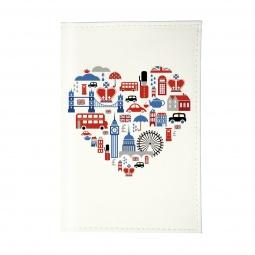 фото Обложка для паспорта Mitya Veselkov «Сердце Лондона»