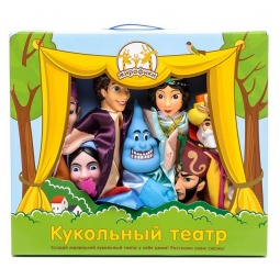 Купить Набор для кукольного театра Жирафики «Алладин»