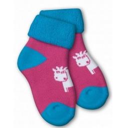 фото Носки детские Teller Cozy Plush. Цвет: розовый. Размер: 18-22
