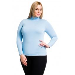 фото Водолазка Mondigo XL 046. Цвет: голубой. Размер одежды: 48