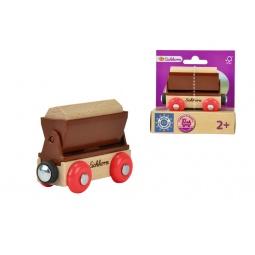 Купить Игрушка деревянная Eichhorn «Грузовой вагон»