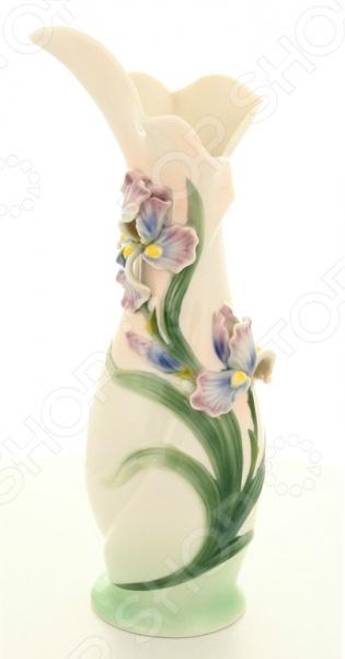 Ваза Elan Gallery «Ирисы» 400001 вазы elan gallery ваза павлин в райском саду
