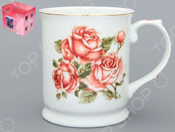 Кружка Elan Gallery «Райская роза» 180534