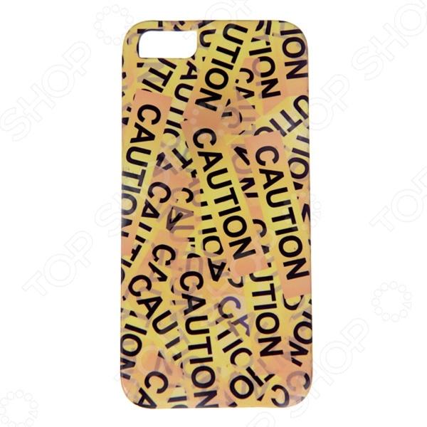 Чехол для iPhone 5 Mitya Veselkov «Оранжевый скотч»