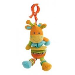 Купить Игрушка подвесная музыкальная Жирафики «Жираф-растяжка»