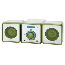 фото Микросистема AEG MC 4455. Цвет: белый, зеленый