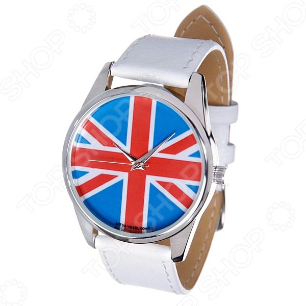 Часы наручные Mitya Veselkov «Британский флаг» MV.White