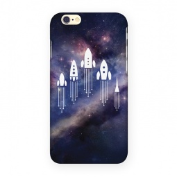 фото Чехол для iPhone 6 Mitya Veselkov «Ракеты в космосе»