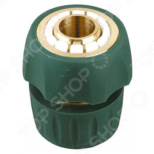 Соединитель шланг-насадка с TPR покрытием Raco Profi-PlusКоннекторы и штуцеры для соединения шлангов<br>Raco Profi-Plus представляет собой современный и удобный в использовании соединитель. Предназначен для быстрого и надежного соединения шланга с любой из поливочных насадок Raco. Представленная модель прослужит долго, т.к. изготовлена из высококачественной латуни и покрыта слоем из термопластичной резины TPR . Изделие отвечает всем нормам и стандартам качества, предъявляемым к данной продукции.<br>