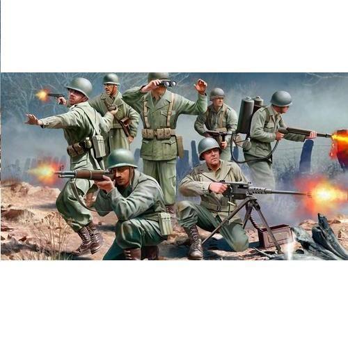 Миниатюры Revell «Фигуры солдат американской пехоты. Вторая мировая война»