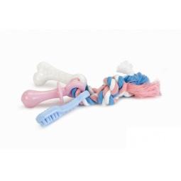фото Игрушка для собак Beeztees «Канат с игрушками»
