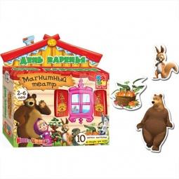 Купить Игра развивающая для малыша Vladi Toys «Магнитный театр. День варенья»
