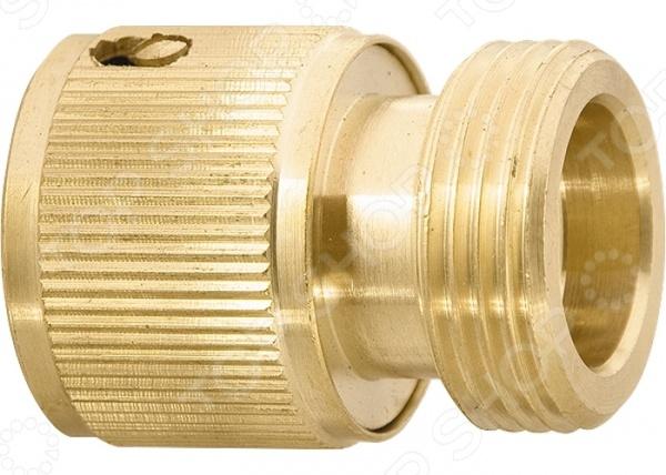 Коннектор с внешней резьбой PALISAD 66275Коннекторы и штуцеры для соединения шлангов<br>Коннектор с внешней резьбой PALISAD 66275 быстросъемный изделие, используемое для соединения шланга диаметр внешней резьбы 3 4 с насадкой. Это один из основных элементов любой поливочной системы, изготовлен из прочной и долговечной латуни. Коннектор применяется вместе с адаптерами, соединительными переходниками и тройниками.<br>