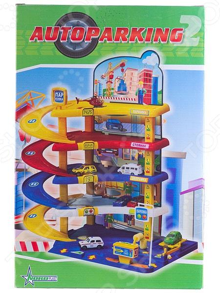 Набор игровой для мальчика Нордпласт «Гараж. Автопарковка2»